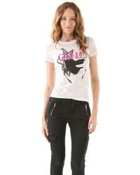 DANNIJO - Lips T-shirt - Lyst