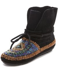 House of Harlow 1960 - Madison Beaded Moccasins - Lyst
