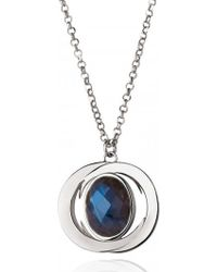 La Diosa Honey Moon Pendant Necklace - Lyst