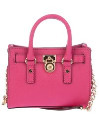 Michael Kors Mini Hamilton Bag - Lyst