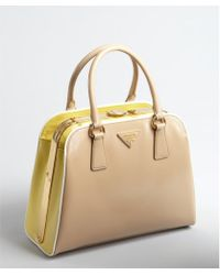Prada Bags | Lyst? - Prada Frame calf leather bag