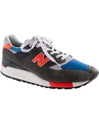 New Balance 998 Sneakers green - Lyst