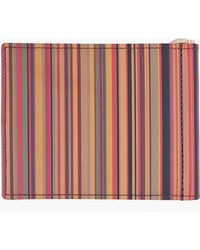 Paul Smith Multistripe Vintage Wallet - Lyst