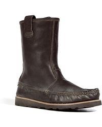 NDC - Brown Moccasin Nebraska Boots - Lyst