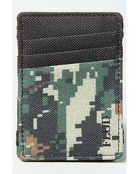 Flud Watches - The Magic Wallet in 8bit Green Camo - Lyst