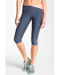 Nike Twisted Running Capris - Lyst