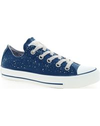 Converse All Star Speciality Denim Trainers - Lyst