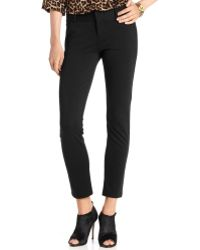 Michael Kors Michael Plus Size Skinny Ankle Ponte Pants - Lyst