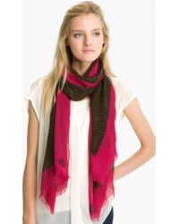 Tory Burch Dunraven Wool Scarf - Lyst