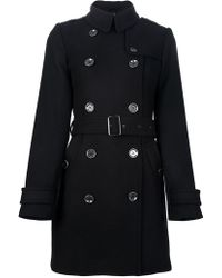 Burberry Brit - Trench Coat - Lyst