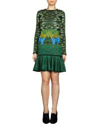 Mary Katrantzou Expandit Long Sleeve Dress - Lyst