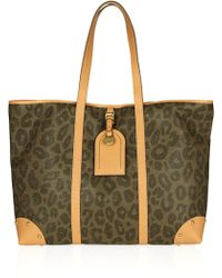 Mulberry Scotch Grain Leopard Print Leather Tote - Lyst
