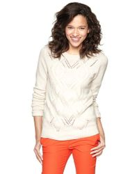 Gap Cable Sweater - Lyst