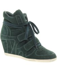 Ash Bea Bis Exclusive Wedge Trainers - Lyst