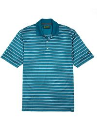 Brooks Brothers St Andrews Links Dotted Alternating Stripe Polo - Lyst