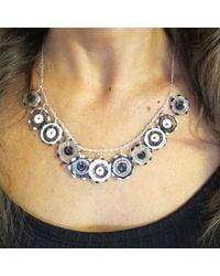 Sari Glassman Black Lampwork Necklace  - Lyst