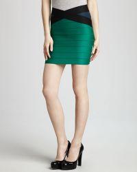 Pleasure Doing Business Crosswaist Bandage Skirt - Lyst
