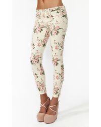 Nasty Gal Desert Rose Skinny Jeans Blush - Lyst