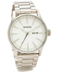 Nixon - The Sentry Ss Watch - Lyst