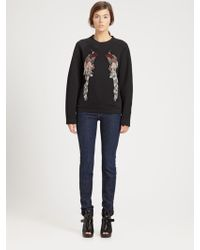 Proenza Schouler Embroidered Sweatshirt - Lyst