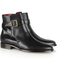 Burberry Prorsum - Leather Ankle Boots - Lyst