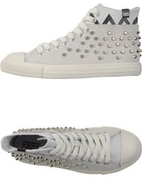 Forfex Hightop Trainers - Lyst