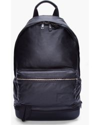 Kris Van Assche - Black Leather Backpack - Lyst