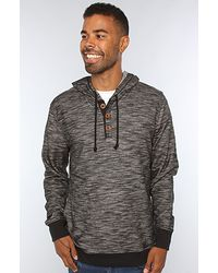 RVCA The Captain Hoody in Black - Lyst