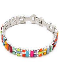 Tom Binns - Jazz Bracelet with Small Baguettes - Lyst