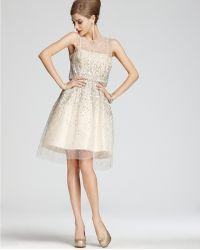Alice + Olivia Dress Alyssa Embellished Party - Lyst
