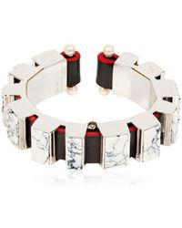 Delfina Delettrez Macromosaic Bracelet - Lyst