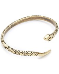 House of Harlow 1960 - Snake Cuff - Lyst