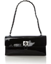 Love Moschino | Scarf Vernissage Flapover Shoulder Bag | Lyst