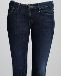Mother Looker Cropped Flows From The Stream Jeans - Lyst
