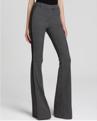 Rachel Zoe Denim Pants Hutton Flare in Faded Black - Lyst