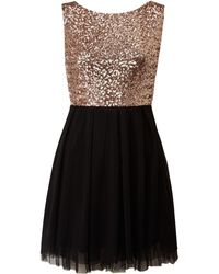Tfnc Sequin Top Prom Dress - Lyst