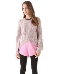 Twenty8Twelve - Brix Chunky Knit Sweater - Lyst