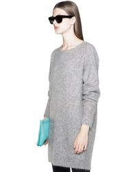 Acne Wham Mohair Sweater Dress - Lyst