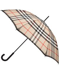 Burberry Tarten Umbrella - Lyst