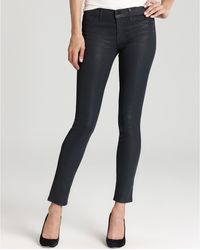 J Brand Jeans 901 Super Skinny Coated in Turbulent Patriot - Lyst