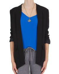 Mason by Michelle Mason Shawl Collar Jacket - Lyst