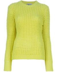 Acne Studios Lina Pineapple Chunky Knit Sweater - Lyst