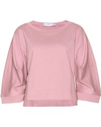 Adidas by Stella Mccartney  Cropped Sweatshirt - Lyst