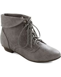 ModCloth Berlin The Know Boot - Lyst