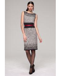 Oscar de la Renta Embroidered Dress - Lyst