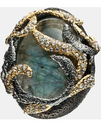 Alexis Bittar Elements Siyabona Vine Statement Ring - Lyst