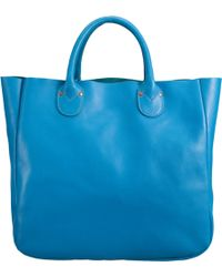 Barneys New York Classic Short Tote - Lyst