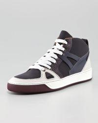 Lanvin Hi-top Sneaker - Lyst