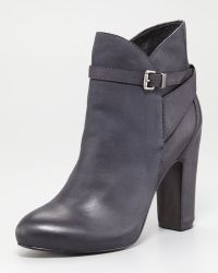 7 For All Mankind Floriane Nubuck Ankle Boot - Lyst