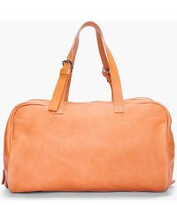 Common Projects - Tan Leather Duffle Bag - Lyst
